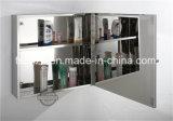 Шкаф 7014 зеркала ванной комнаты мебели нержавеющей стали Moddren вспомогательный