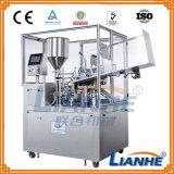 Автоматическая завалка сливк/мази и машина упаковки запечатывания в пробке