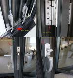 Vendita diretta Lowes olandese poco costoso della fabbrica della Cina che fa scorrere i portelli del patio con i ciechi