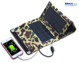 мешок заряжателя мобильного телефона солнечной силы 5V 7W складной/складывая портативный мешок заряжателя панели солнечных батарей