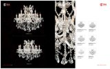Белый роскошный кристаллический свет канделябра