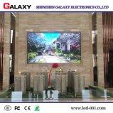 Visualización de LED de interior del alto brillo P4 para hacer publicidad