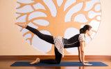 女性は速く動揺の練習のティーの圧縮の体操のヨガのスポーツ・ウェアを乾燥する