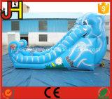 販売のための膨脹可能な象のスライド