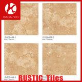 石の穀物の無作法なタイルの骨董品の煉瓦磁器のタイルのマットの床タイル
