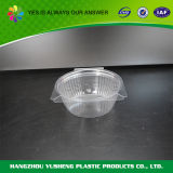 蝶番を付けられたふたのプラスチック包装の容器、明確なペット容器