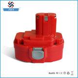 reemplazo Ni-CD de la batería recargable de 14.4V 1.5ah-2.0ah para Makita Mak-14.4V