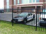 Painel de aço da cerca revestida do pó, cerca modular do metal
