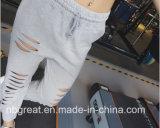 2017 polainas atractivas de la yoga de los deportes de las mujeres atléticas de los pantalones de la alta calidad
