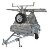 2017 de Hete Hoogste Aanhangwagen van de Kleinhandelaar van het Aluminium van de Verkoop 6X4