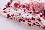 아주 무거운 꽃에 의하여 인쇄되는 Flannel 담요