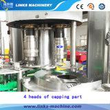 Máquina de engarrafamento líquida automática cheia para a água pura
