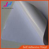 Weißer Kleber Belüftung-selbstklebendes Vinyl