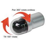 Dia. roteert de PanSchuine stand van 58mm de Camera van de Inspectie van de Pijpleiding van het Afvoerkanaal van het Riool van 360 Graad met de Spoel van de Kabel 200FT Riggid