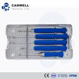 Destornillador espinal de los instrumentos médicos, instrumento ortopédico, instrumento de la cirugía