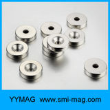 Senker-Ring-seltene Massen-Magnet, Magnet-Neodym mit Loch
