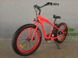 Bicicletta elettrica 500W degli uomini En15194 della spiaggia grassa approvata della gomma