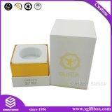 Kosmetische Doos van de Gift van het Manchet van het Embleem van de douane de Verpakkende Witte