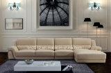 Modernes Möbel-Oberseite-Leder-Sofa (SBL-9028)