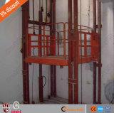 La table élévatrice personnalisée de longeron de guide pour la cargaison soit employée dans l'entrepôt