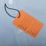 Tag do cair do papel da roupa (5911S-1)