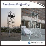 アルミニウム梯子フレームの移動式足場タワー