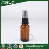 bernsteinfarbige Glasflaschen des spray-30ml mit schwarzem Lotion-Sprüher