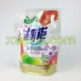 Bolso laminado de la bebida de la bolsa del agua de la bolsa del canalón de la hoja