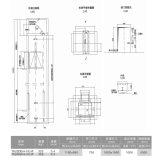 Elevatore domestico economizzatore d'energia dell'elevatore di Vvvf per la casa della villa