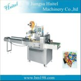 Автоматическая многофункциональная большая машина для упаковки подушки Htl-350/450/550 для хлопать торт риса, расстегай, хлеб, немедленная лапша, пилюльки
