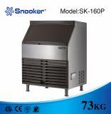 Billar Sk-160p 73kg/24h con el fabricante de hielo del uso de Commerical de la potencia 460W, máquina de hacer hielo