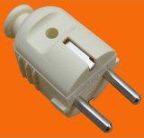 2 штепсельная вилка Pin PP электрическая с землей (P7053)