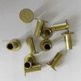Il rivestimento dei freni semi vuoto placcato zinco rivetta L10 6X16mm