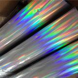 プラスチックのためのPVCホログラフィックペーパー熱い押すフィルム
