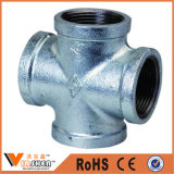 Montagem de tubos de ferro maleável galvanizado de boa qualidade