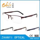 Telaio dell'ottica di Eyewear di vetro di titanio Semi-Senza orlo leggeri del monocolo (8105)