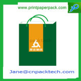 Saco de compra impresso OEM do fato do vestuário do saco de papel da forma