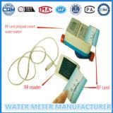Счетчик воды предоплащенный Dn15mm для счетчика воды домочадца карточки RF