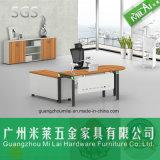 최신 디자인 금속 테이블 프레임 사무실 매니저 컴퓨터 책상 가구