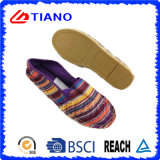 Madame plate et confortable colorée Shoes (TN36705) de santals de pêcheur