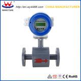 Contador de flujo electromágnetico del agua de Wpld