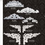 Центр раковины полиуретана с Applique/Onlay/орнаментом Hn-S021 PU листьев переченя