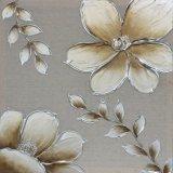 Pintura al óleo hermosa grande hecha a mano de la flor del 100% para la decoración casera