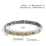 은과 금을%s 가진 Bracelet 가장 새로운 디자인 형식 숙녀는 도금했다