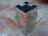 Tubo scanalato quadrato dell'acciaio inossidabile con 90 gradi
