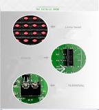 La INMERSIÓN semi al aire libre P10 del módulo 320mm*160m m del rojo LED escoge el rojo para la pantalla de visualización de interior del asunto