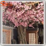 La visione di seta della decorazione di cerimonia nuziale fiorisce i fiori bianchi artificiali all'ingrosso
