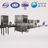 150bph finalmente procesado máquina de rellenar del agua pura de 5 galones