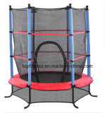 4.5FT Bleu / Rose / Green Trampoline Junior Kids Outdoor Activity Fun with Safety Net