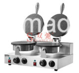 машина хлебопека конуса 2-Plate/машина мороженного